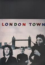 WINGS - london town LP + poster