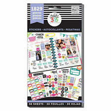 Create 365 The Happy Planner ~ Basic Value Pack ~ 30 Sheets ~ 1829 Stickers
