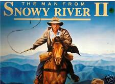 The Man From Snowy River:2-1988-Original Movie Soundtrack-Record LP