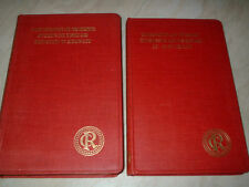 2 Books. Cable Research Handbooks. Vols I & II. Distribution of Electricity 1929