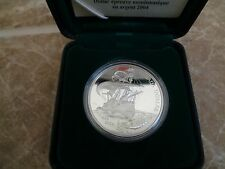 Canada Silver Proof Dollar - 2004 400th Anniversary First French Settlement