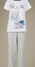 M&S Ladies Tatty Teddy Pyjama Set, Size 20, 100% Cotton, BNWT