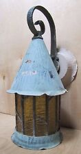 Antique Arts & Crafts Copper Light Fixture Decorative Arts Old Wall Mount Lamp