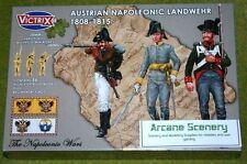 VICTRIX NAPOLEONICO austriaco LANDWEHR 1808-1815 NAPOLEONICO 28mm PLASTICA vx0015