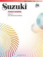 Suzuki Piano School, Vol. 1 New Sheet music Book Shinichi Suzuki