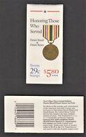 US Booklet - BK190 - Military - Desert Shield & Desert Storm, Sc 2552, 1991, MNH