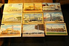 #8063,Greyhouse Bus Stations in the 1940's-50's Lot of SEVENTEEN Cds