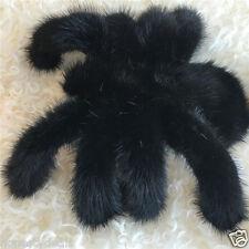 """8"""" 20cm Super Large 100% Real Mink Fur Spider Bag Charm"""