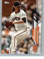 2020 Topps Team Set Card San Francisco Giants SF-4 Jeff Samardzija Giants®