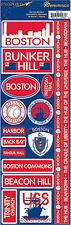 Reminisce Passports-BOSTON Cardstock Stickers scrapbooking BEANTOWN