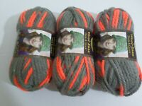 Lion Brand Wool-Ease Yarn   Lot of 3     Monarch