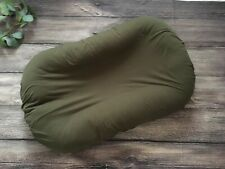 Snuggle Me Organic Slip Cover Baby Lounger Olive Green