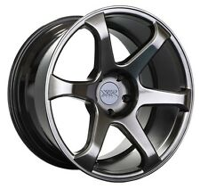 XXR 556 18x8 Rim 5x108 +42 Chromium Black Wheel Fits 5 Lug Ford Focus Taurus Sho