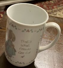 Precious Moments That's What Friends Are For Mug Cup 1989 511722