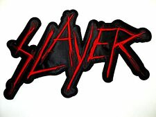 SLAYER   EMBROIDERED BACK PATCH