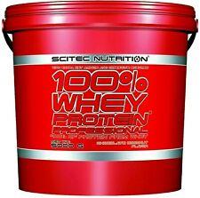 Scitec Nutrition (14,18?/kg) 100% Whey Protein Prof 5000g 5Kg Eiweiss plus BONUS