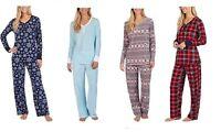 Nautica Women's 2 Piece Fleece Pajama Sleepwear Set - *Variety*