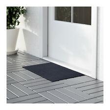 "Door mat dark blue 1 ' 2 ""x1 ' 10 "" Anti-Slip 35 x 55 cm IKEA KRISTRUP NEW"