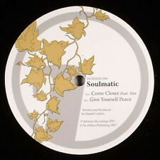 """Soulmatic – Come Closer / Give Yourself Peace NEW Intrinsic VINYL 12"""" D&B"""
