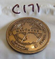 NAVTRANS NAVAL TRANSPORTATION SUPPORT CENTER CHALLENGE COIN C171