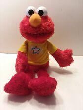 Elmo Let's Imagine Interactive Plush Doll Sesame Street 2013 Hasbro Talking Toy