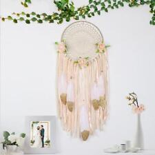 DIY Dreamcatcher Feathers Handicraft Handmade Dream Catcher Net Home Wall Decor