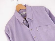 J2092 BEN SHERMAN SHIRT TOP ORIGINAL PREMIUM VINTAGE FADED LILAC size M