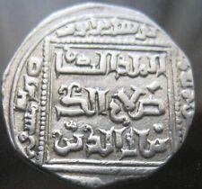 RARE ISLAMIC START 1 $ : SALADIN 1169-1193 AD, AR DIRHAM AH 583  mint Hamah