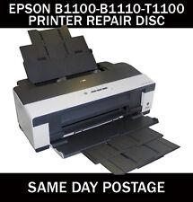 EPSON STYLUS B1100- B1110 - T1100 RESET SERVICE INKPAD ERROR DISC