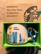 Starbucks Ornament Cup YAH 2016 SAN DIEGO You Are Here Espresso Mug Demitasse