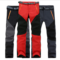 Women's Outdoor Waterproof Softshell Fleece Winter  Snow  Ski Hiking Pants