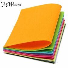 10 Colors/set Non Woven Felt Fabric Sheets Fiber Thick Kids DIY Craft  Assorted