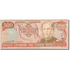 [#267216] Costa Rica, 500 Colones, 1993-1997, KM:262a, 1994-07-06, BC