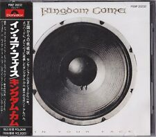 Kingdom Come In Your Face Japan 1st CD Obi 1989 POOP-20232