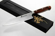ZHEN Japanese VG-10 3-Layer Forged Steel Santoku Chef Knife, 7-Inch vs Shun Ran