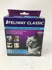 Feliway Classic 30 Day Starter Kit Plug In Diffuser & Refill