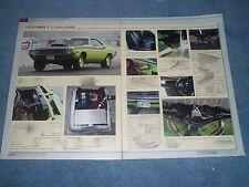 1971 Dodge Challenger Hemi FAST Drag Car Article