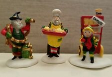 Dept 56 North Pole  Baker Elves set of 3 accessory 56030 MIB NOS Retired