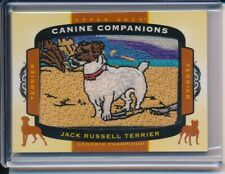 2018 Upper Deck Goodwin Champions Canine Companions Jack Russell Terrier Patch