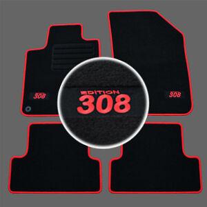Tapis de sol en caoutchouc pour Peugeot 308 II SW Break depuis 2013
