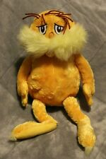 "Kohl's Cares Dr Seuss The Lorax Plush Stuffed Character Doll Yellow 15"" Retired"