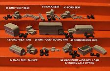 """RICO'S """"SUPER TRUCK PACK 1"""" - 8 VEHICLES - N SCALE - RRR/FNS"""