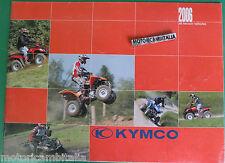 KYMCO SCOOTER MOTO ATV 2006  CATALOGO BROCHURE  PUBBLICITA PROSPEKT RECLAME