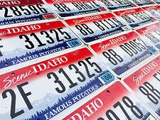 Idaho License Plate - Famous Potatoes - PREMIUM Idaho License Plates