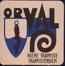 ORVAL - TRAPPIST BEERCOASTER FROM BELGIUM  AP16020