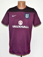ENGLAND NATIONAL TEAM 2014/2015 TRAINING FOOTBALL SHIRT JERSEY NIKE SIZE L ADULT