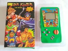 Vintage LCD hand Held Game SUPER street FIGHTER knock off rare old shop stock