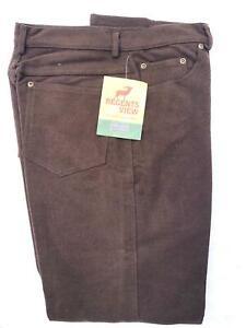 Mens Regents View  100% Cotton Moleskin Jeans 2 colours country clothing