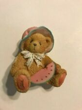 """New ListingCherished Teddies 914819 A Day In The Park In Box 1993 Enesco July """"Julie"""""""