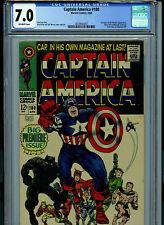 Captain America #100 CGC 7.0 Marvel Comics Black Panther Amricons K20